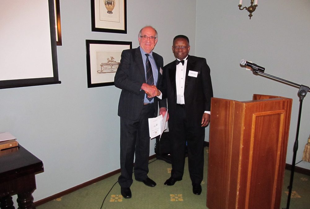 Prof Wessel Pienaar inducted as a Fellow