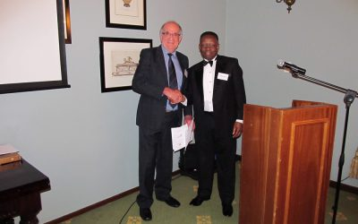 Prof Wessel Pienaar inducted as a Fellow