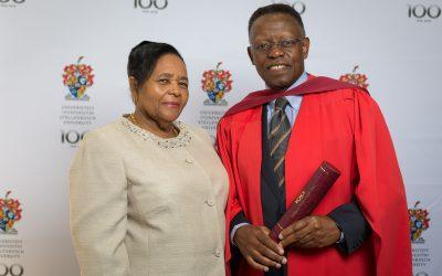 SAAE President Trueman Goba receives Honorary Doctorate